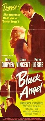poster Black Angel (1946)