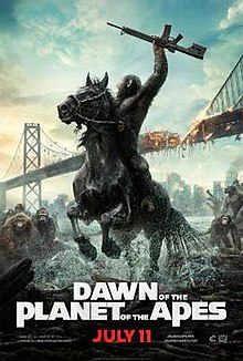 poster Dawn of the Planet of the Apes (2014)