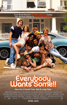 poster Everybody Wants Some!! (2016)
