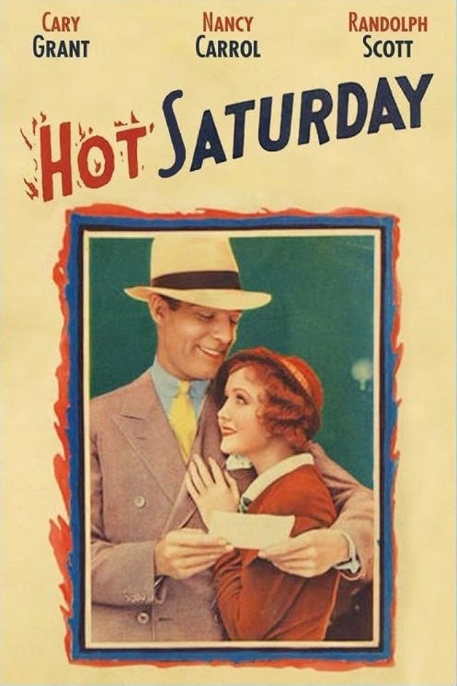 poster Hot Saturday (1932)