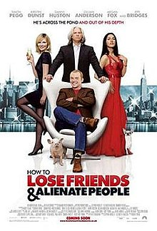 poster How to Lose Friends & Alienate People (2008)