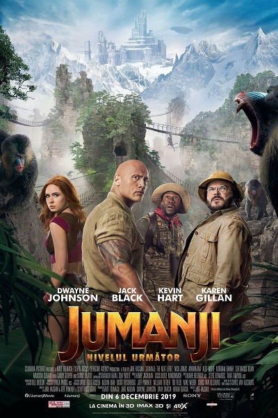 poster Jumanji The Next Level (2019)