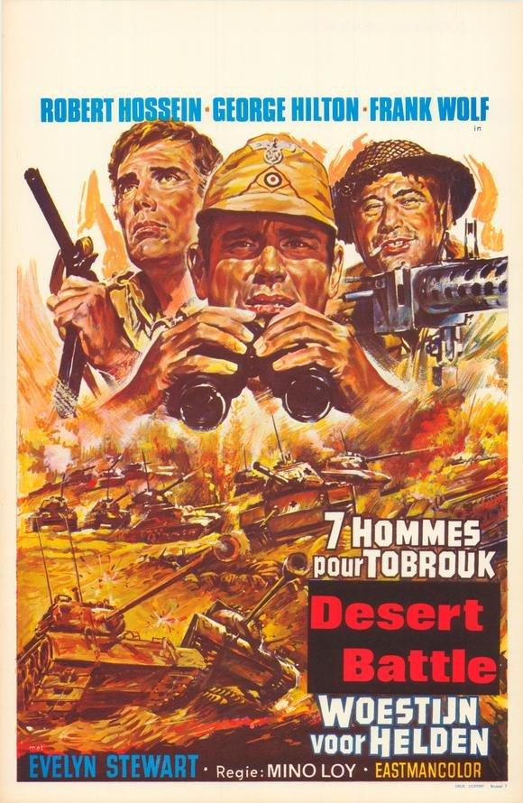 poster La battaglia del deserto (1969)