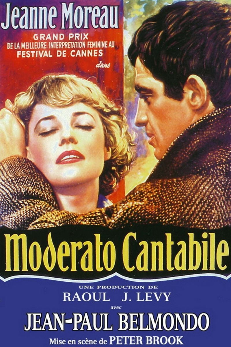 poster Moderato Cantabile (1960)