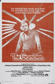 poster The Gambler (1974)