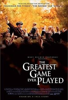 poster The Greatest Game Ever Played (2005)