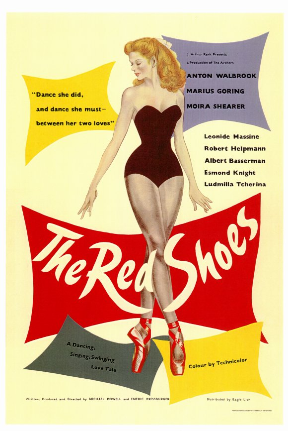 poster The Red Shoes (1948)