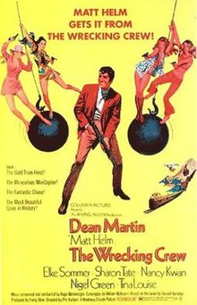 poster The Wrecking Crew (1969)