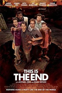 poster This Is the End (2013)