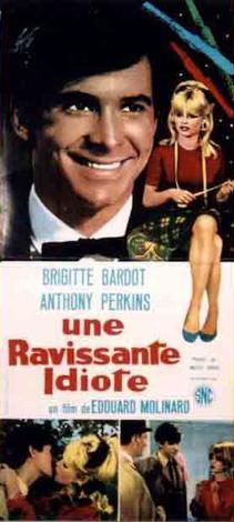 poster Une ravissante idiote (1964)