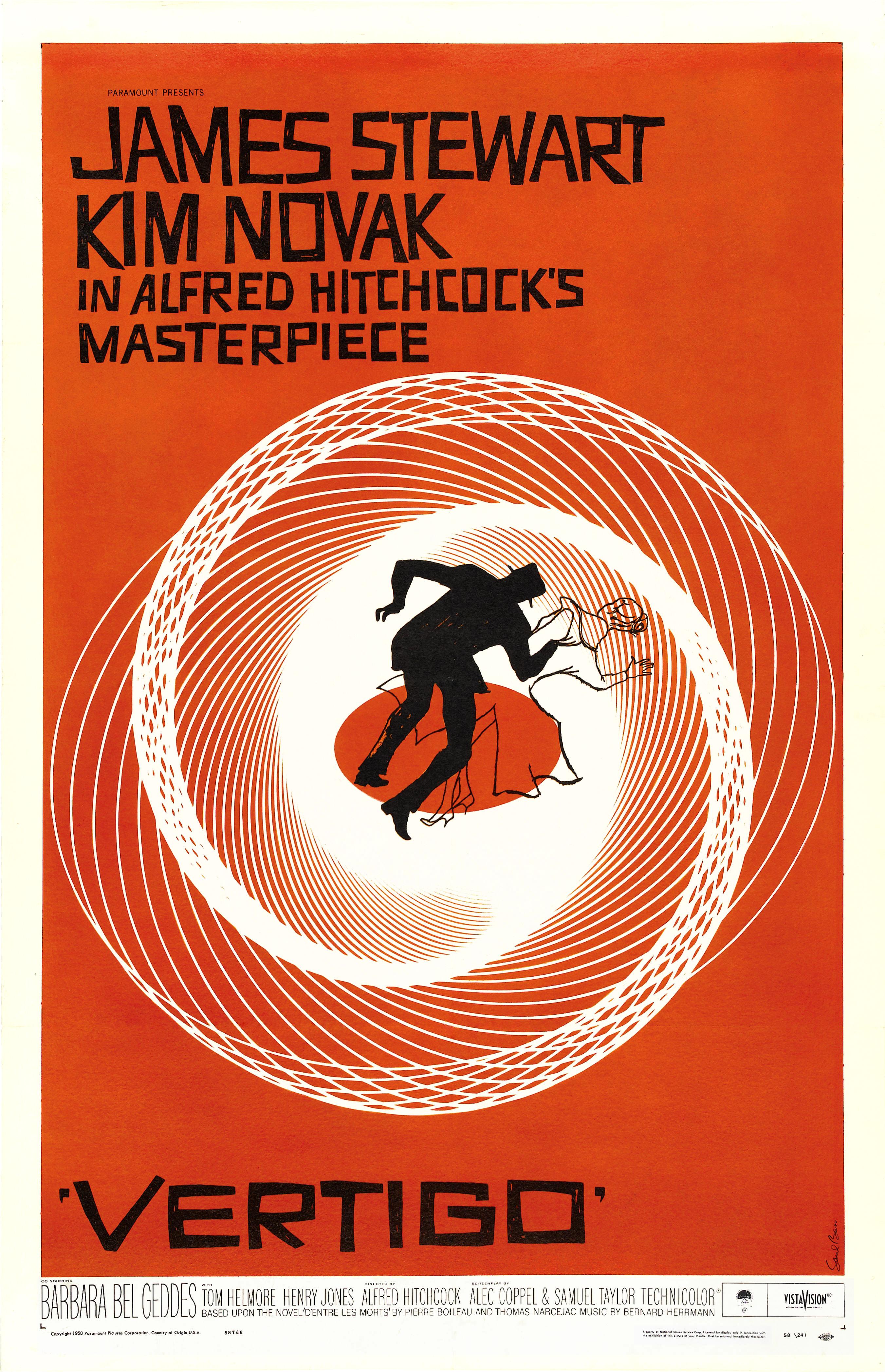 poster Vertigo (1958)