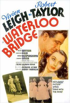poster Waterloo Bridge (1940)