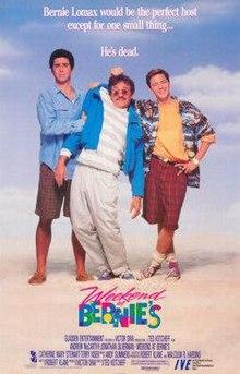 poster Weekend at Bernie's (1989)