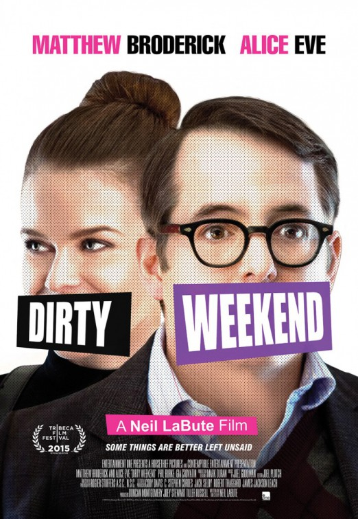 poster Dirty Weekend (2015)