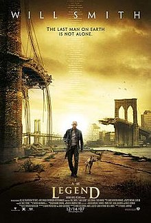 poster I Am Legend (2007)