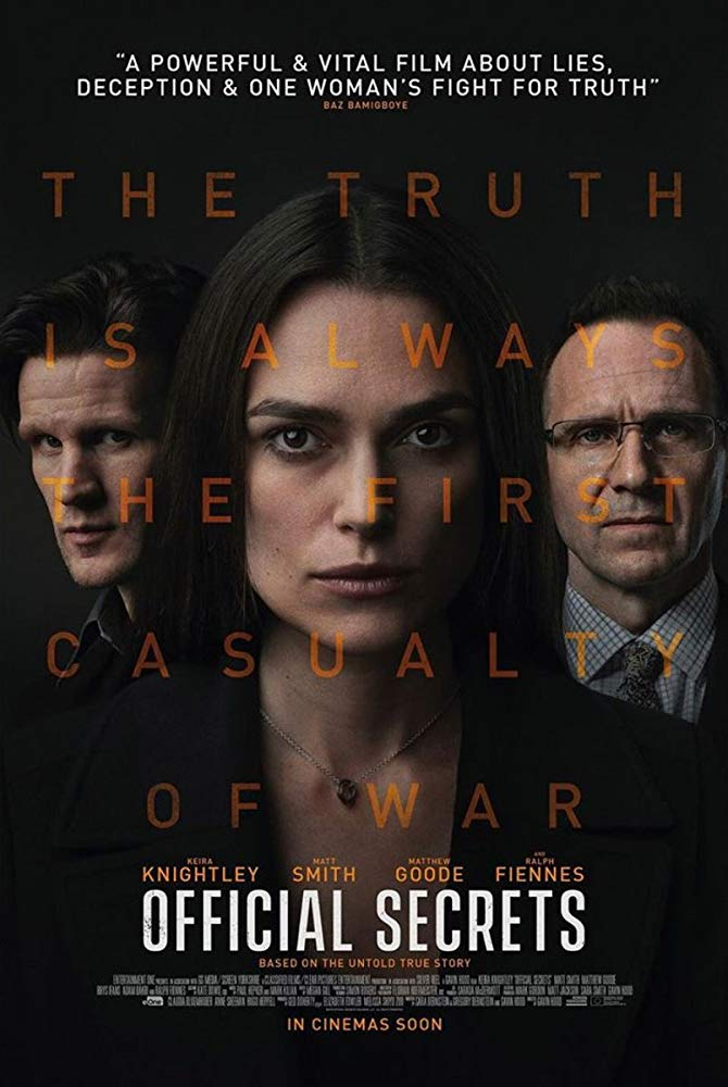 poster Official Secrets (2019)