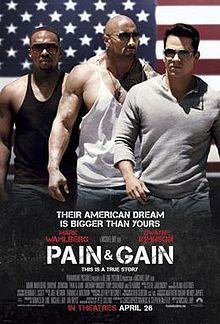 poster Pain & Gain (2013)