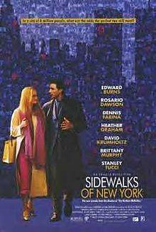 poster Sidewalks of New York (2001)