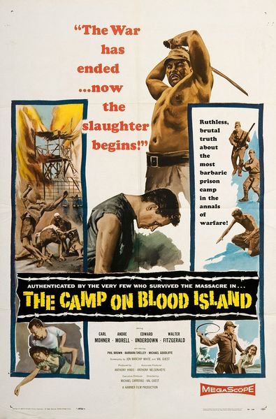 poster The Camp On Blood Island (1958)