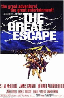 poster The Great Escape (1963)