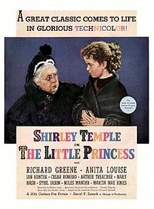 poster The Little Princess (1939)