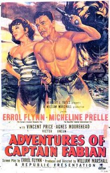 poster Adventures of Captain Fabian (1951)