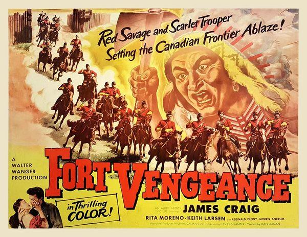 poster Fort Vengeance (1953)
