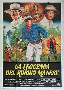 poster La leggenda del rubino malese (1985)