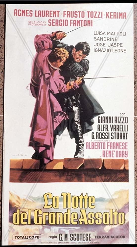 poster La notte del grande assalto (1959)