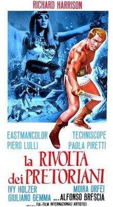 poster La rivolta dei pretoriani (1964)