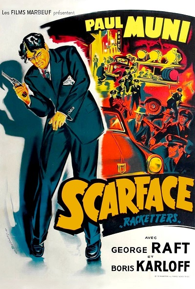 poster Scarface (1932)