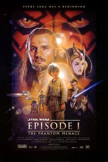 poster Star Wars Episode I - The Phantom Menace (1999)