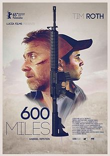 poster 600 Miles (2015)