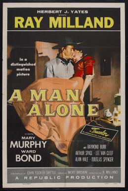 poster A Man Alone (1955)