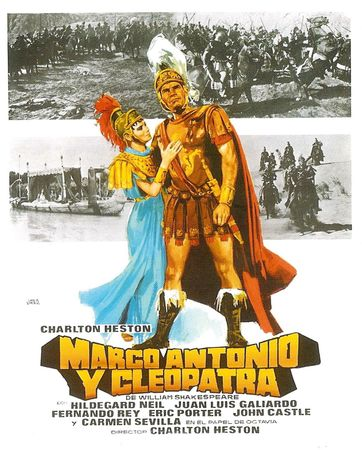 poster Antony and Cleopatra (1972)