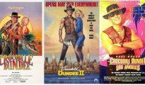 poster Crocodile Dundee (1986, 1988, 2001)