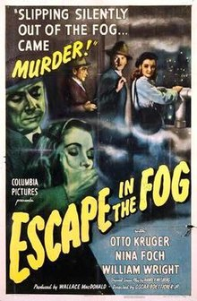 poster Escape In The Fog (1945)