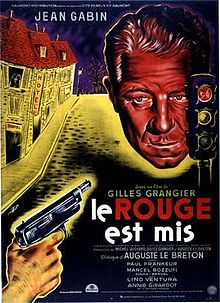 poster Le rouge est mis (1957)