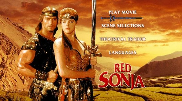 poster Red Sonja (1985)