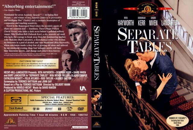 poster Separate Tables (1958)