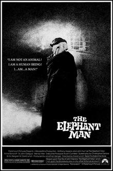 poster The Elephant Man (1980)