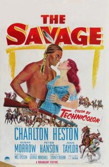 poster The Savage (1952)