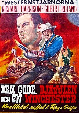poster Anche nel west c'era una volta Dio (1968)