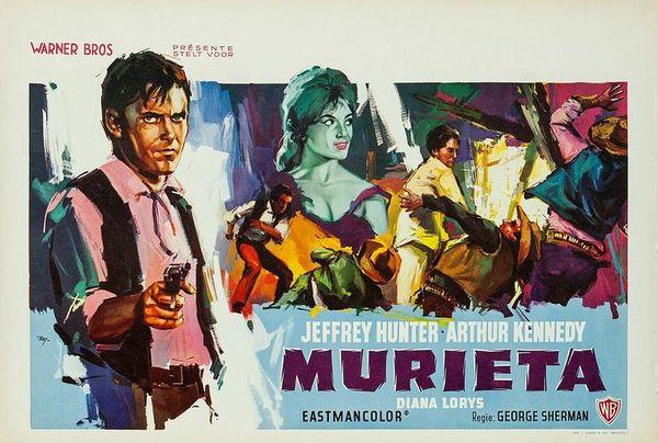 poster Joaquin Murrieta (1965)