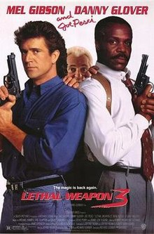 poster Lethal Weapon 3 (1992)