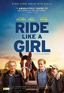 poster Ride Like A Girl (2019)