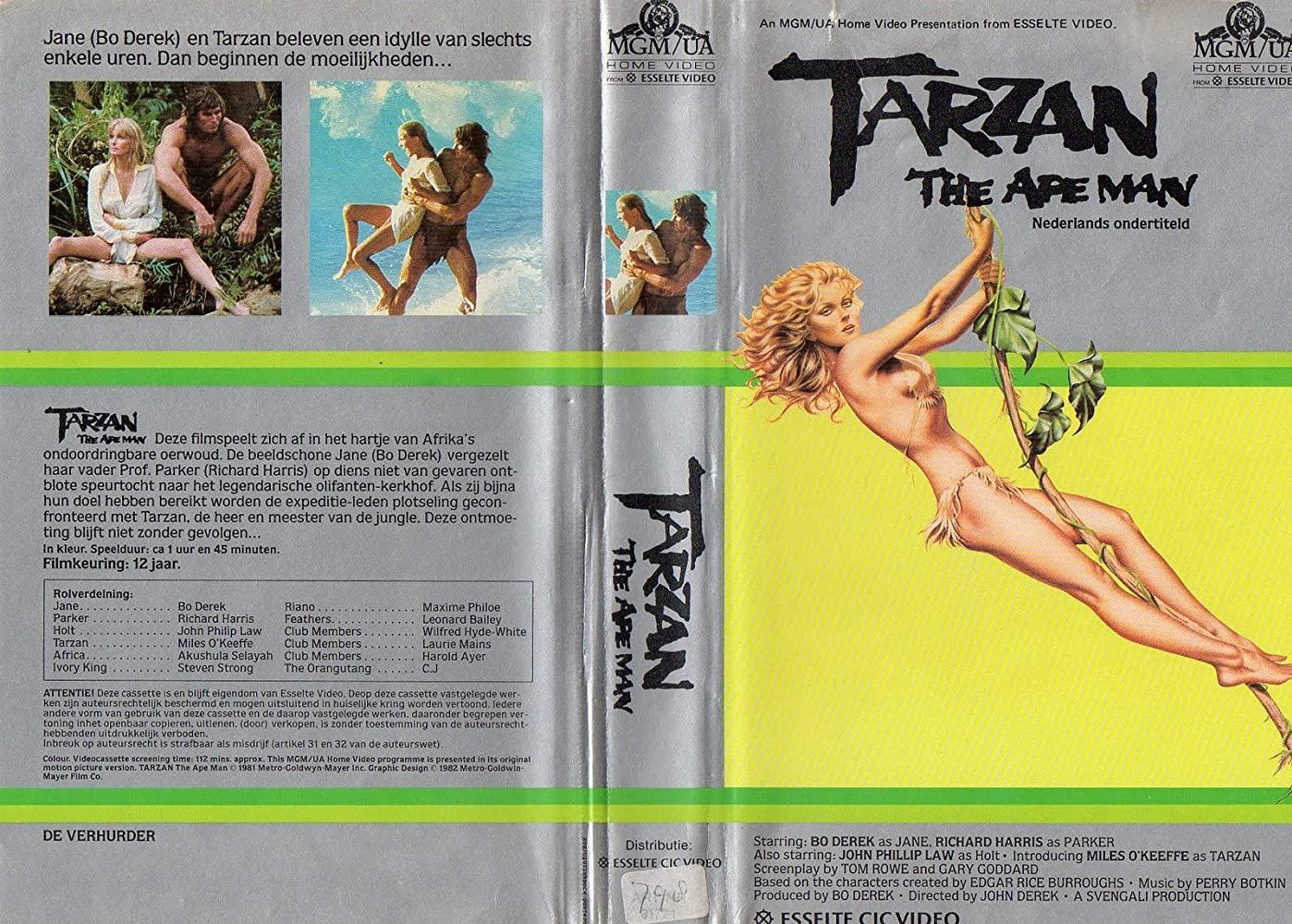 poster Tarzan, the Ape Man (1981)