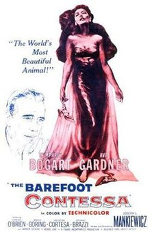 poster The Barefoot Contessa (1954)