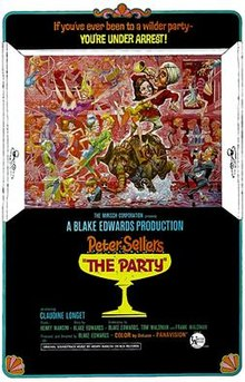 poster The Party (1968)