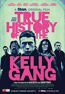 poster True History of the Kelly Gang (2019)